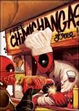 Deadpool Chimichanga Stand Magnet