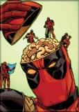 Deadpool Open Skull Magnet