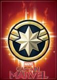 Captain Marvel Emblem Magnet