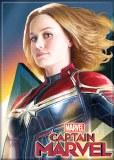 Captain Marvel Hair Flip Magnet
