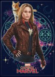 Captain Marvel and Goose Magnet