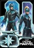 Captain Marvel Skrull Warriors Magnet