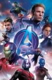 Avengers Endgame Group on Blue Magnet