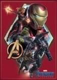 Avengers Endgame Group on Red Magnet