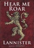 Game Of Thrones Lannister Emblem Magnet