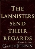 Game Of Thrones Lannisters Send Regards Magnet