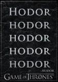 Game Of Thrones Hodor Hodor Hodor Magnet
