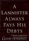 Game Of Thrones Lannister Pays Debts Magnet