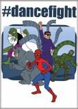 Spider-Man Cartoon Spiderman Dancefight Magnet