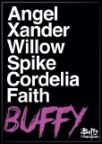 Buffy Names Magnet