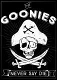 Goonies Never Say Die Black Magnet