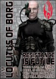 Star Trek TNG Locutus of Borg