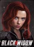 Black Widow Movie Head Shot Magnet