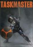 Black Widow Movie Taskmaster with Sword and Shield Refrigerator Magnet