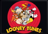 Looney Tunes Group Circle Magnet