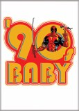 Deadpool 30th 90s Baby Magnet