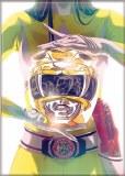 Power Rangers Yellow Ranger Magnet