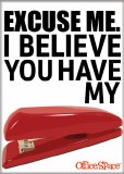 Office Space Excuse Me Stapler Magnet