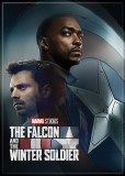 Falcoln and the Winter Soldier Poster Close Magnet