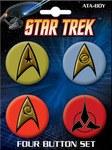 Star Trek Insignias Button Set