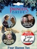 Princess Bride Quotes Button Set