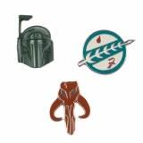 Star Wars Boba Fett Lapel Pin 3-Piece Set
