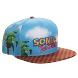 Sonic The Hedgehog All-Over Print with Embroidery Snapback