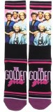Golden Girls Panel Print Crew Sock