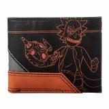 Rick and Morty Layered Material Bi-fold Wallet