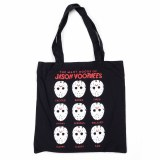 Friday the 13th Jason Voorhees Mood Canvas Tote