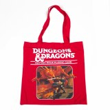 Dungeons and Dragons Red Canvas Tote