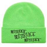 Beetlejuice Neon Logo Beanie