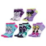 Disney Villains Ankle Socks 5 Pack