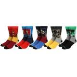 DC Comics 5 Pack Crew Socks