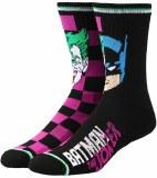 Batman & Joker Split Crew Socks