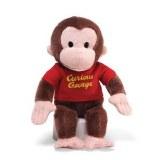 "Curious George 12"" Red Shirt Plush"