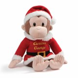 Curious George Santa Plush