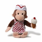 Curious George 13 In Ice Cream Plush Doll