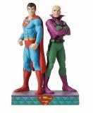DC Superman/Lex Luthor Statue by Jim Shore