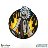 Rick and Morty Rocker Rick Patch