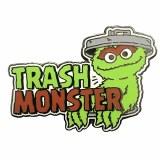Sesame Street Oscar Trash Monster Pin