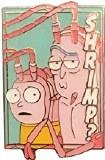 Rick and Morty Pastel Shrimp Pin