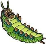 Rick and Morty Teacher Caterpillar Pin