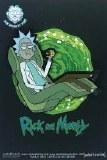 Rick and Morty Rick's Hover Chair Pin