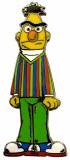 Sesame Street Angry Bert Star Pin