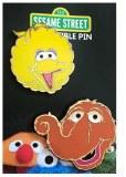Sesame Street Big Bird and Snuffy Pin Set