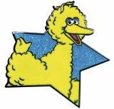 Sesame Street Big Bird Star Pin