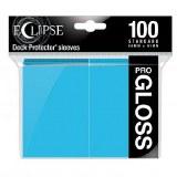 Eclipse Deck Protectors Pro Gloss Sky Blue 100ct