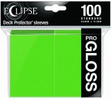 Eclipse Deck Protectors Pro Gloss Lime Green 100ct