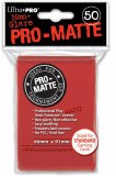 Ultra Pro Red Pro Matte Standard Sleeves